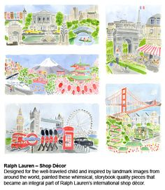 Caitlin McGauley - images created for Ralph Lauren decor