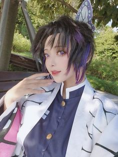 /r/cosplay: for photos, how-tos, tutorials, etc. Cosplayers (Amateur and Professional) and cosplay fans welcome. Epic Cosplay, Amazing Cosplay, Cosplay Girls, Cosplay Costumes, Anime Cosplay Makeup, Kawaii Cosplay, Demon Slayer, Slayer Anime, Otaku
