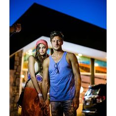 Taylor Marie Hill and Michael Shank (her boyfriend) at Coachella 2014