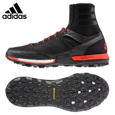 big sale 71363 d1929 Mens adidas Adizero XT Boost Trail Running Shoe, Size M - Black