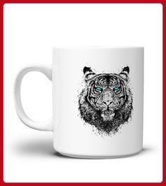 Tiger gaze Mug - Tiger shirts (*Partner-Link)