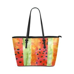 Abstract Watermelon Tote Bag 30% OFF | Coupon code: ARTSADD  FREE SHIPPING | FREE RETURN