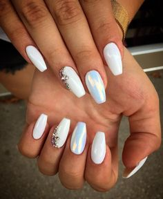 What Christmas manicure to choose for a festive mood - My Nails Winter Nails, Spring Nails, Summer Nails, Stiletto Nails, Coffin Nails, Acrylic Nails, Christmas Manicure, Elegant Nails, Artificial Nails