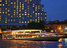 Dinner on cruise by Chaopraya Cruise     Being the first under the Chao Phraya Cruise family, this luxurious cruise ship of its kind has catered to guests from around the world,