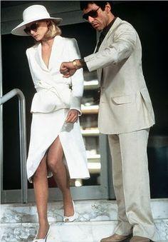 Monday Muse: Michelle Pfeiffer as Elvira Hancock #scarface