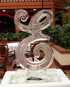 Wedding Ice Sculptures | Unique Weddings | Dayton Ice Sculptures | http://www.iceman4hire.com/