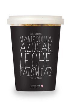 Monchello Snacks-Popcorn/Designed by Alejandra Astiazarán