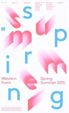The 2014 edition of Western Front's events calendars. Distributed at locations throughout Vancouver and mailed to members, it features the typeface LL Brown by Auréle Sack.