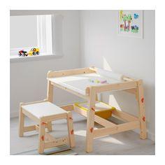 FLISAT Children's desk, adjustable adjustable -