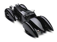 """1949 Mercedes Benz SSK """"Count Trossi"""" - Overhead"""