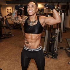 Black lesbian bodybuilders