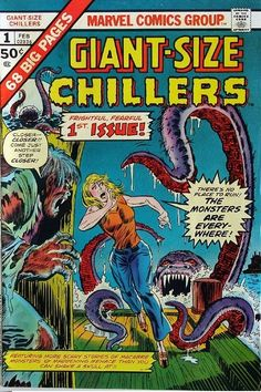 Marvel Comics Giant-Size Chillers No. 1 (1975)