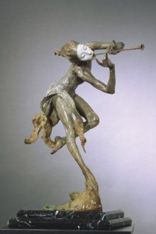 Richard MacDonald Sculpture: Trumpeter