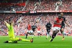 Lukaku. Manchester United v West Ham 2017 Aug 13.