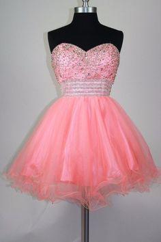 4ce4da346aa4 H45 A-line Sweetheart Short/Mini Homecoming Dress sleeveless Straps Beading  Elegant Homecoming Dresses. Zibbet
