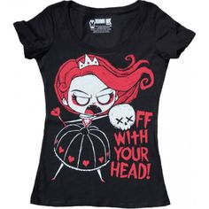 Akumu Ink - Off With Your Head! T-Shirt Ladies