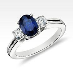 Gemstone Engagement Rings -Sapphire, Ruby, Emerald | Blue Nile