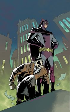 Rorschach & Nite Owl - Kevin Nowlan