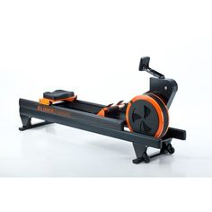 Rowing Machine by WaterRower - Slider Dynamic. WaterRower Dimensions: 127in x 22.25in x 38in (Assembled); 84in (Standing) / Weight: 100 Lbs. Exercise Rower Features Boat-Like Design, Along With Boat Movement And Crew Simulation; Flywheel Lever Allows For Differing Resistance Levels. Built-In Leveling Rear Leg, Locking Plate, And Wheels Allow For Easy Transport. Includes Comfortable And Sturdy Seat, Along With Training Monitor (Can Display Drag Factor). Enjoy Manufacturers Warranty Of 3…