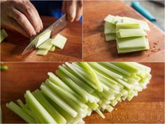 Too often, broccoli stems get dumped in the trash, but their mild flavor and crisp, juicy center make them just as deserving of attention as the florets. Here are a few tips to put those neglected stalks to good use. How To Wash Vegetables, Boiled Vegetables, Raw Vegetables, Veggies, Broccoli Stalk, Broccoli Cauliflower, Broccoli Recipes, Vegetable Recipes, Baby Food Recipes
