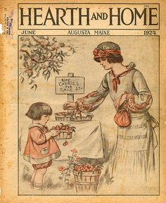 vintage hearth and home magazine covers Aprons Vintage, Vintage Labels, Vintage Ephemera, Vintage Cards, Vintage Postcards, Retro Kids, Old Magazines, Vintage Magazines, Vintage Pictures