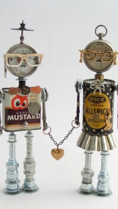 Geek couple fobots