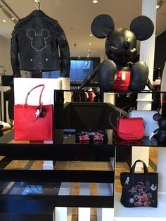 Disney and Coach partner for new collection featuring Mickey Mouse   [ https://style.disney.com/news/2016/06/10/disney-x-coach/ ]