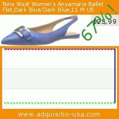 Nine West Women's Anyamarie Ballet Flat,Dark Blue/Dark Blue,11 M US (Apparel). Drop 67%! Current price $25.99, the previous price was $79.00. http://www.adquisitio-usa.com/nine-west/womens-anyamarie-ballet-94