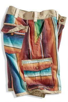 Mexicaanse Poncho Stripe Graphic Tee Premium All Over Print