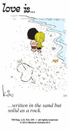 Love Is... Comic Strip, February 09, 2013 on GoComics.com