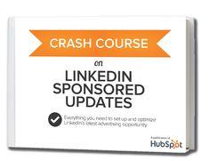Crash Course on #Linkedin Sponsored Updates  #Smarketing #Inbound www.LinkedInVideoTraining.com