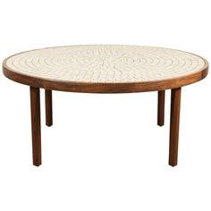 White Studio Tile Coffee Table by Martz 1