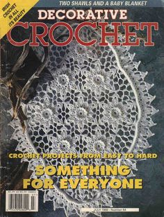 Decorative Crochet Magazines 36 - claudia Rabello - Álbuns da web do Picasa