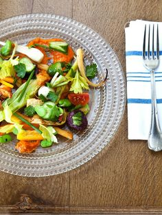 How To Make a Flavorful Salad with Anything You Have - the secret is in the Romesco Dressing