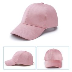 94cc944ba9a New Women Casual Baseball Cap Dad Hat Deus Cap Pink Black Lady Ovo Drake  Hats Snapback Suede Cap Trucker Cap Men