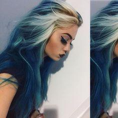 Ocean like hair