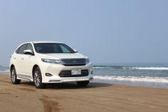 TOYOTA 新型ハリアーで石川県の千里浜なざさドライブウェイを走ろう! http://bloooger.jp/chirihamanazasa/ #ハリアー #自動車 #SUV #ドライブ #千里浜なざさドライブウェイ
