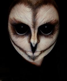 'Owl' makeup idea.