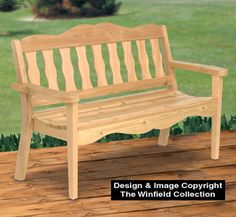 Awesome Ultimate Garden Bench Wood Plans Enjoy a cool drink while you relax outdoors in the contoured