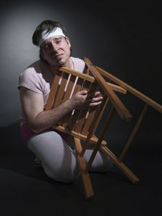 "Daniel Zacarias ""El hombre danza"" Actor_Santi Gallisà_Photo shoot_books"