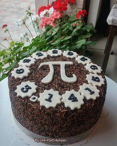 "79 Beğenme, 4 Yorum - Instagram'da Butik Pasta / Kurabiye (@gizemintatlidunyasi): ""Pi Günü Pastası #piday2016 #pidaycake #picake #chocolatecake #pigunupastasi"""