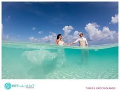 Trash the Dress in the Turks and Caicos Islands