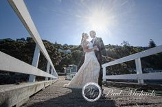Karaka bay pier with Ben and Ana. New Zealand #wedding #photography. PaulMichaels of Wellington http://www.paulmichaels.co.nz/