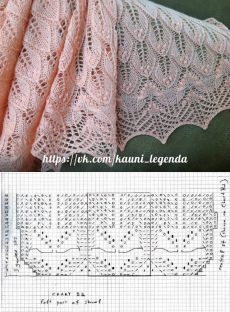 chusty estonskie, crochet shawls and scarves patterns, wzory szali i chust, darm. Lace Knitting Stitches, Lace Knitting Patterns, Lace Patterns, Knitting Designs, Knitting Charts, Crochet Shawl, Knit Crochet, Free Crochet, Knit Lace