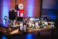 Abundant food station at The Automotive Museum in El Segundo for an ABC-South Bay meeting. Photo Courtesy of Luminaire Images. www.summiteventcatering.com #summiteventcatering #catererlosangeles #catererorangecounty #abcsouthbay #luminaireimages