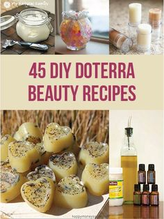 It's so easy and economical to make up these DIY beauty doTERRA recipes. You will save money, look great and feel great in no time!