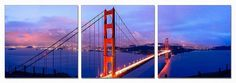 Modrest San Francisco 3-Panel Acrylic Painting VGSCSG-71050ABCProduct :70785Features:Acrylic Painting3 PanelsDimension:Each Panel Painting: W24