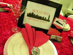 sex in the city party decorations | MKR Creations: Sex in the City Party Theme