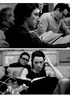 Imagine this as a College REYLO AU [I don't ship the actors because it's rude]
