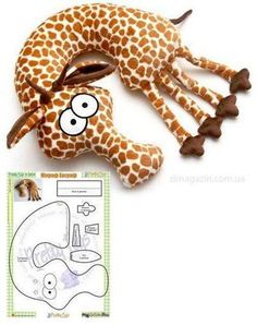 #Modello giraffe pillow if you want #idee come on Cloves of taste